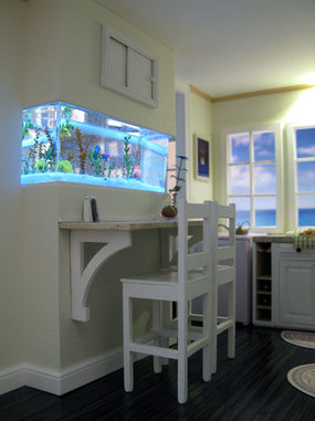 Baxter Pointe Villa Dollhouse Kitchen