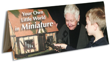 Dollhouse Miniatures Brochure