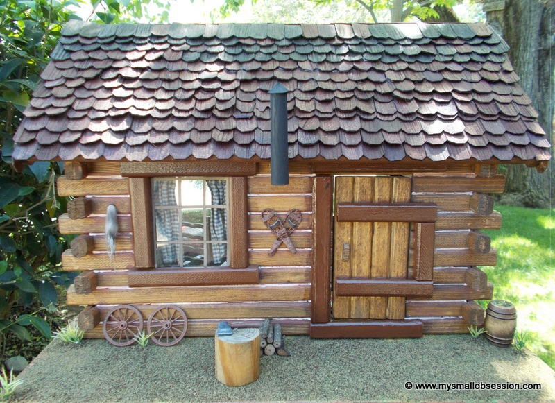 Pioneer Log Cabin - My Small Obsession