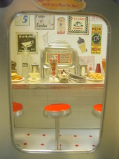 Miniature Roadside Diner
