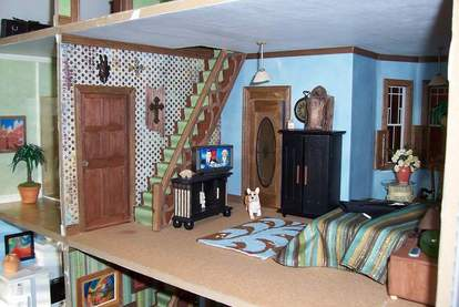 San Franciscan Dollhouse Bedroom 2